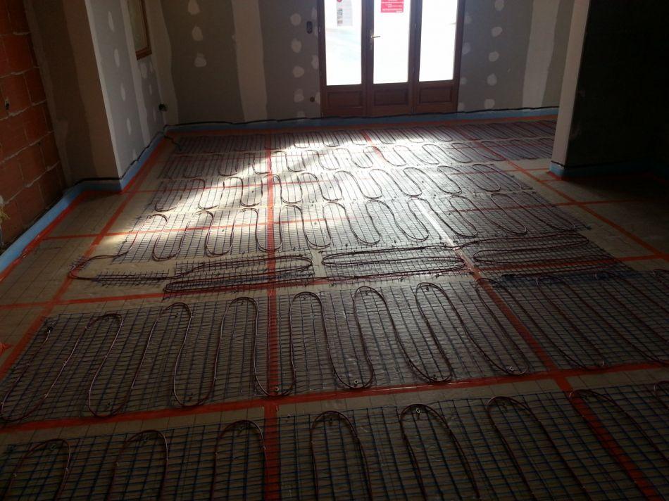 Elecricit r alisation de plancher chauffant for Plancher chauffant electrique renovation