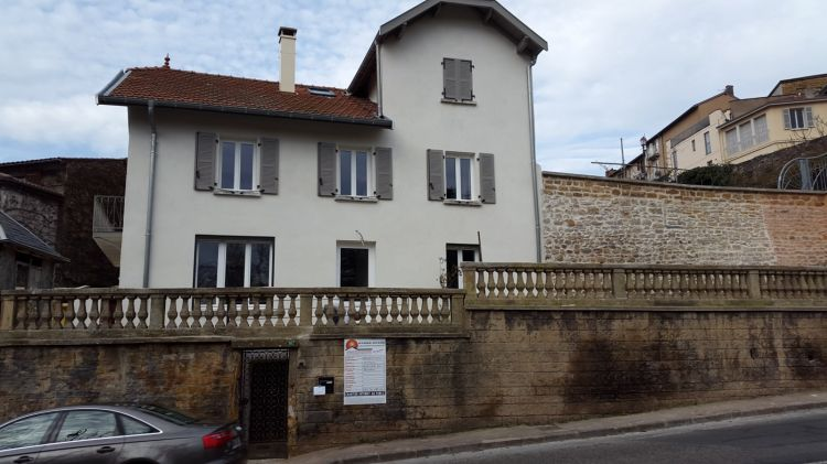 R novation compl te d 39 une maison ancienne st cyr au mont for Renovation maison ancienne avant apres